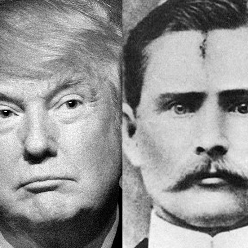 The Outlaw Donald Trump and the Hero Jesse James